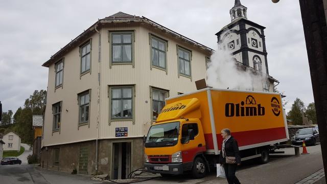 Første strømpeforing i Bergstaden Røros